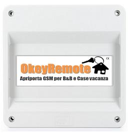 OkeyRemote ti permette di gestire fino a 4 dispositivi